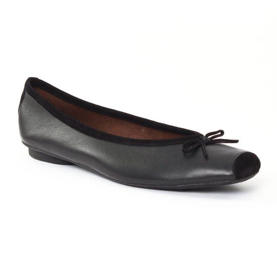 Ballerines Scarlatine 4224q Noir, vue principale de la chaussure femme