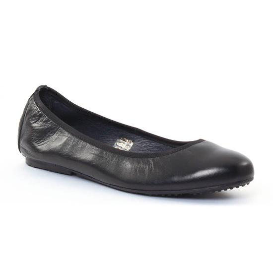 Ballerines Scarlatine 7920 Noir, vue principale de la chaussure femme