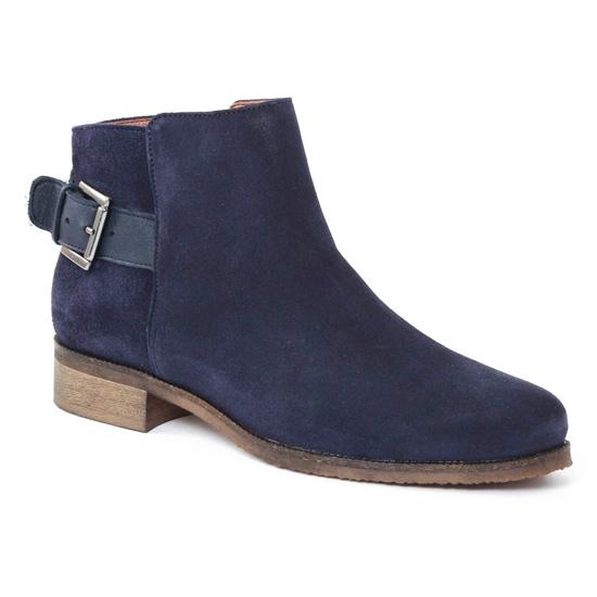 Bottines Et Boots Scarlatine 8852b River Navy, vue principale de la chaussure femme