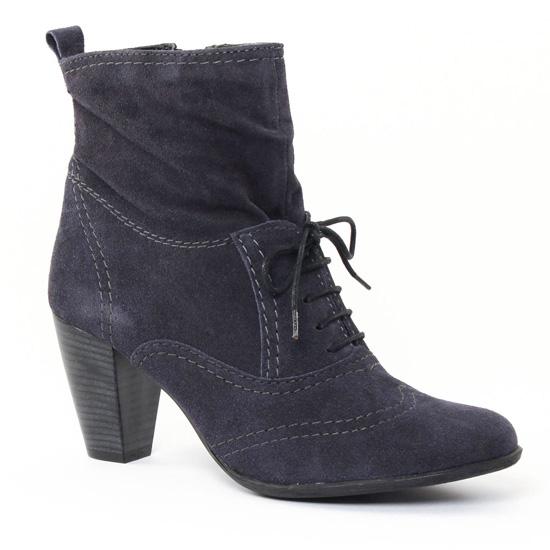 Bottines Et Boots Tamaris 25801 Navy, vue principale de la chaussure femme