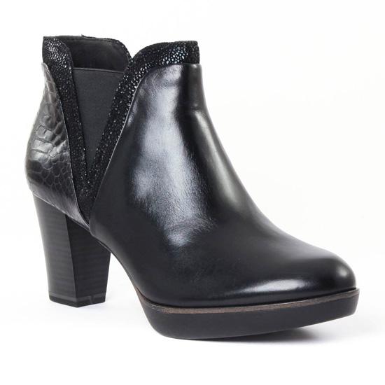 Bottines Et Boots Tamaris 25047 Black, vue principale de la chaussure femme