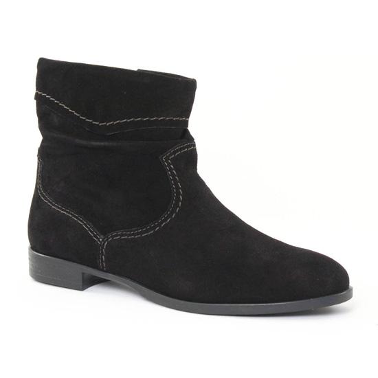 Bottines Et Boots Tamaris 25005 Black, vue principale de la chaussure femme