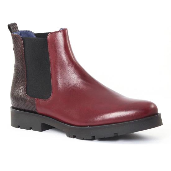 Bottines Et Boots Pintodiblu PintoDiBlu 62822 Bordeaux, vue principale de la chaussure femme