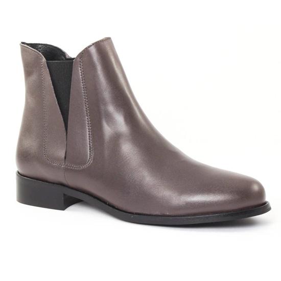 Bottines Et Boots Scarlatine 2693 gris, vue principale de la chaussure femme