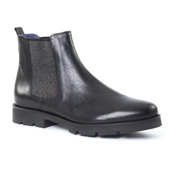 Bottines Et Boots Pintodiblu PintoDiBlu 62822 Noir, vue principale de la chaussure femme