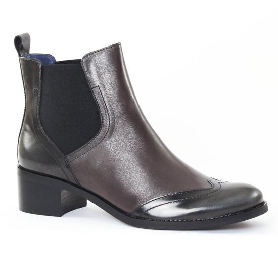 Bottines Et Boots Pintodiblu PintoDiBlu 78440 Noir, vue principale de la chaussure femme