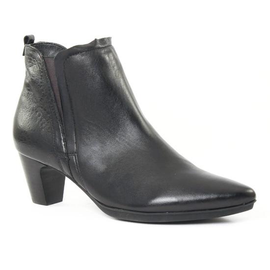 Bottines Et Boots Fugitive Folin Noir Galice noir, vue principale de la chaussure femme