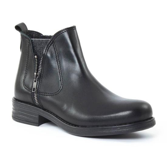 Bottines Et Boots Scarlatine 6627 Noir, vue principale de la chaussure femme