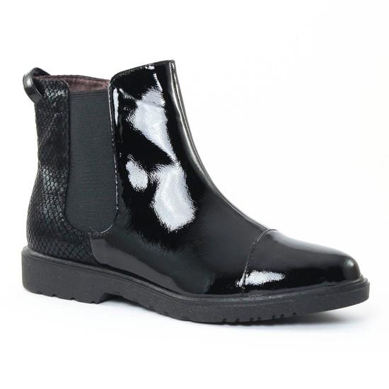 Bottines Et Boots Tamaris 25057 Black, vue principale de la chaussure femme
