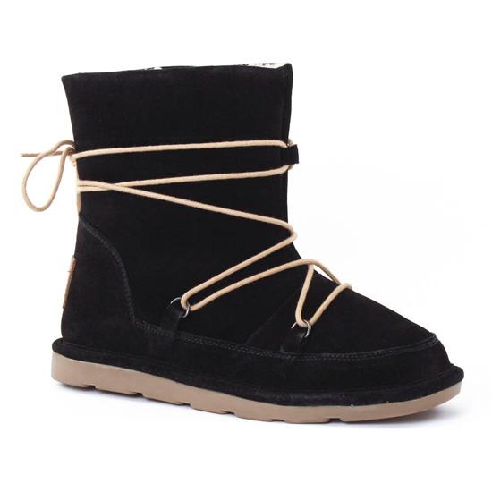 Bottines Et Boots Les Tropeziennes Candy Noir, vue principale de la chaussure femme