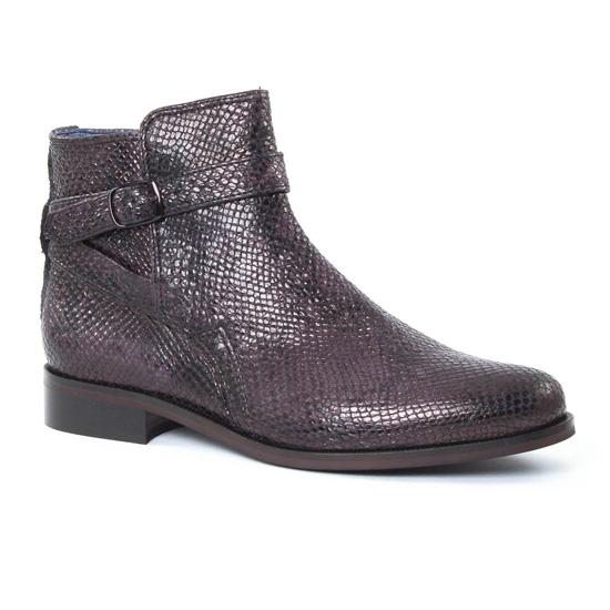 Bottines Et Boots Pintodiblu PintoDiBlu 74180 Gris, vue principale de la chaussure femme