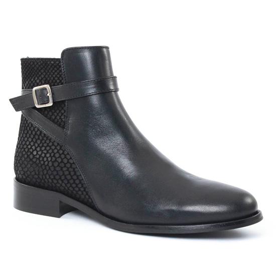 Bottines Et Boots Scarlatine 2718 Noir, vue principale de la chaussure femme