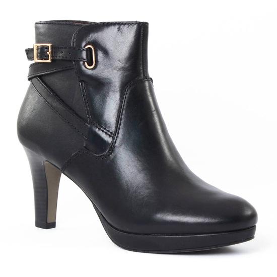 Bottines Et Boots Tamaris 25352 Black, vue principale de la chaussure femme
