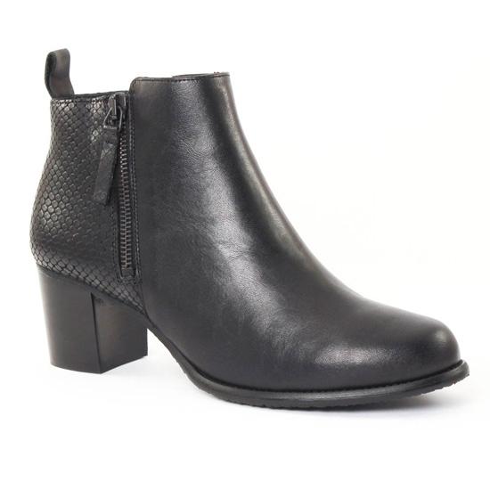 Bottines Et Boots Scarlatine 2649 Noir, vue principale de la chaussure femme