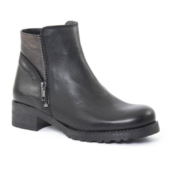 Bottines Et Boots Scarlatine 6644 Noir, vue principale de la chaussure femme