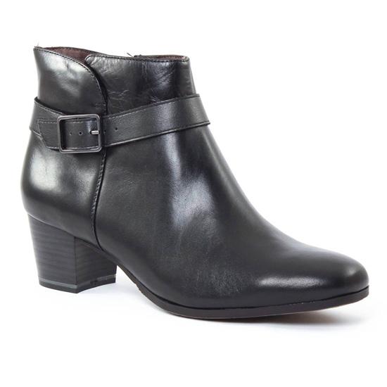 Bottines Et Boots Tamaris 25324 Black graphite, vue principale de la chaussure femme