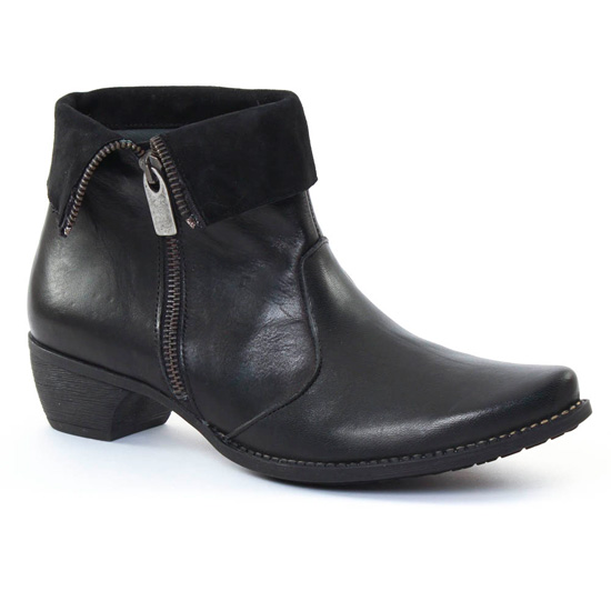 Bottines Et Boots Scarlatine 3641 Noir, vue principale de la chaussure femme