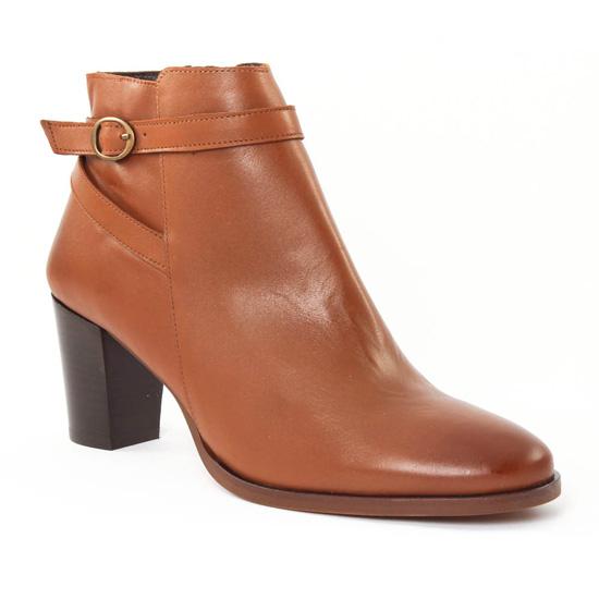 Bottines Et Boots Scarlatine 77305 Cognac, vue principale de la chaussure femme