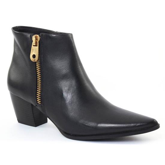 Bottines Et Boots Scarlatine al005 Noir, vue principale de la chaussure femme