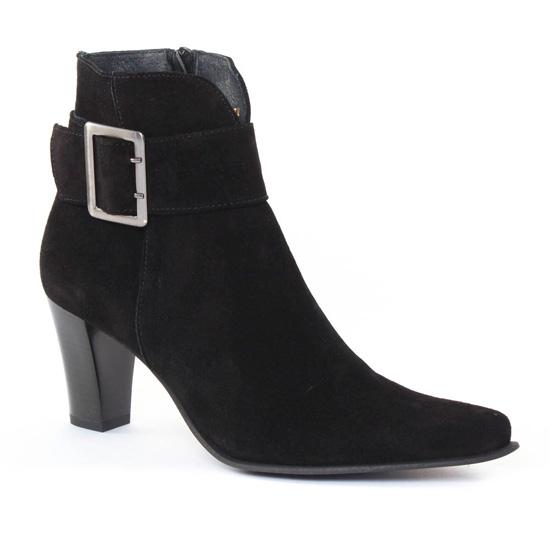 Bottines Et Boots Scarlatine Fanta Noir, vue principale de la chaussure femme