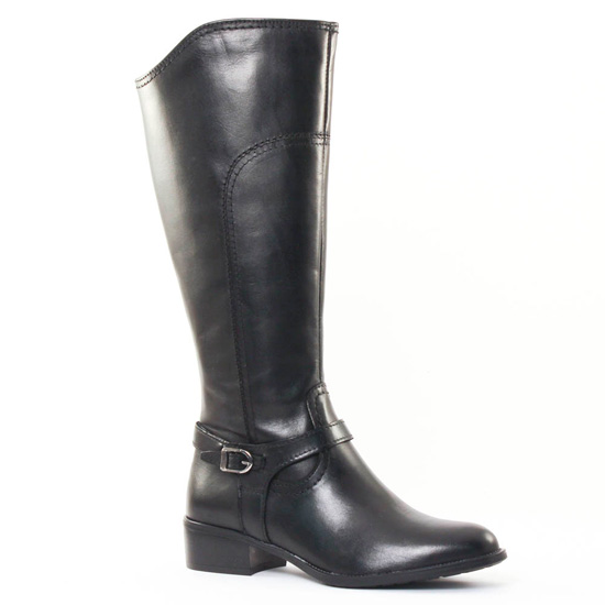 Bottes Tamaris 25559 Black, vue principale de la chaussure femme