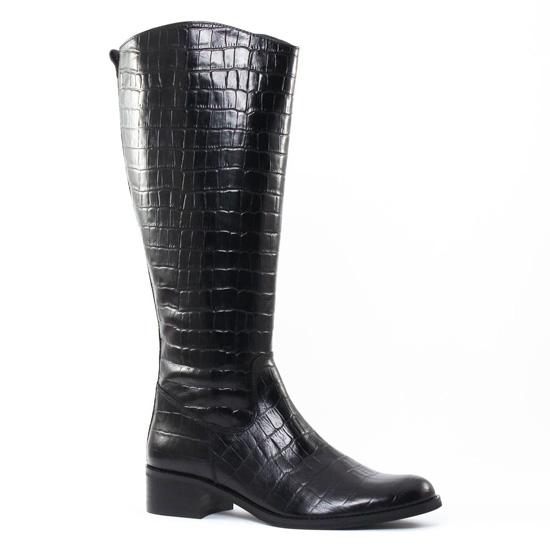 Bottes Pintodiblu PintoDiBlu 77790 Noir, vue principale de la chaussure femme