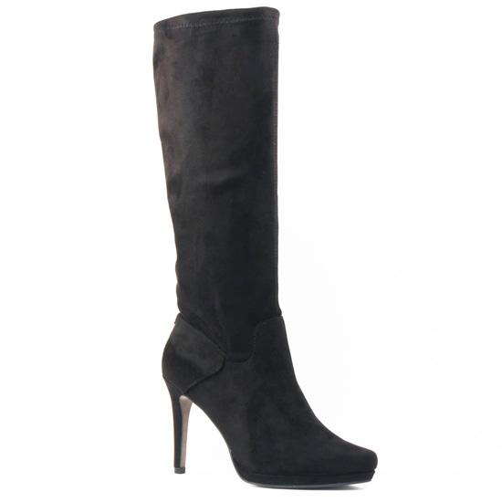 Bottes Tamaris 25531 Black Gold, vue principale de la chaussure femme