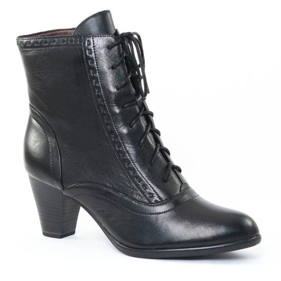 Bottines Et Boots Tamaris 25112 Black, vue principale de la chaussure femme