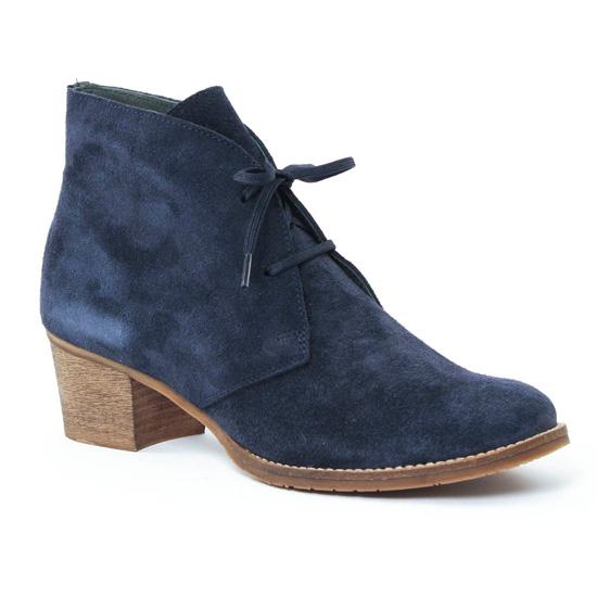 Bottines Et Boots Scarlatine 3290 Marine, vue principale de la chaussure femme