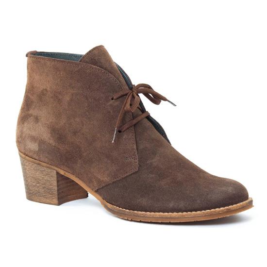 Bottines Et Boots Scarlatine 3290 Taupe, vue principale de la chaussure femme