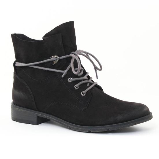 Bottines Et Boots Marco Tozzi 25100 Black, vue principale de la chaussure femme