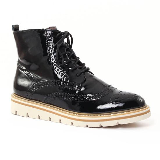 Bottines Et Boots Tamaris 25268 Black, vue principale de la chaussure femme
