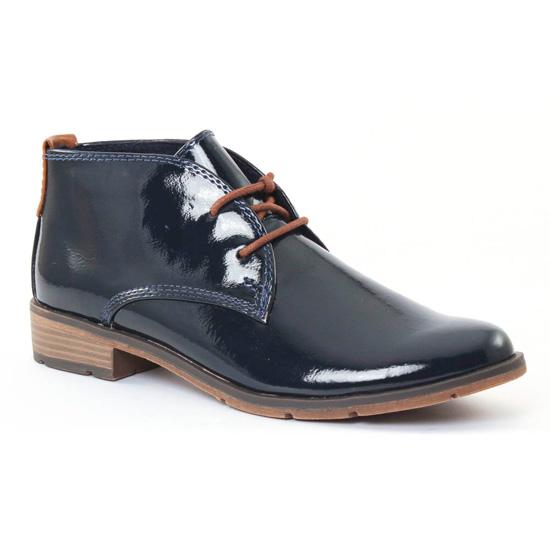 Bottines Et Boots Marco Tozzi 25118 Navy, vue principale de la chaussure femme