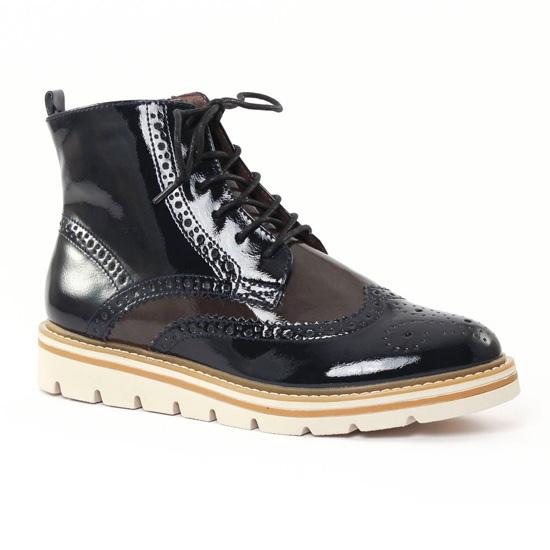 Bottines Et Boots Tamaris 25268 Ocean Graphite, vue principale de la chaussure femme
