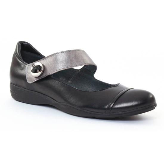 Babies Scarlatine 7842 Gris, vue principale de la chaussure femme