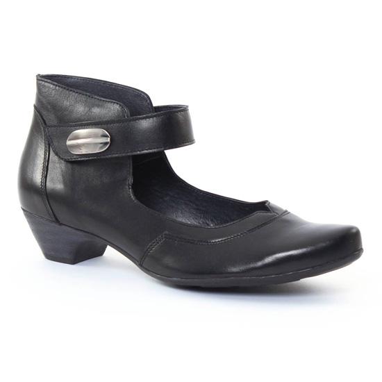 Chaussures Confort Scarlatine 7728 Noir, vue principale de la chaussure femme