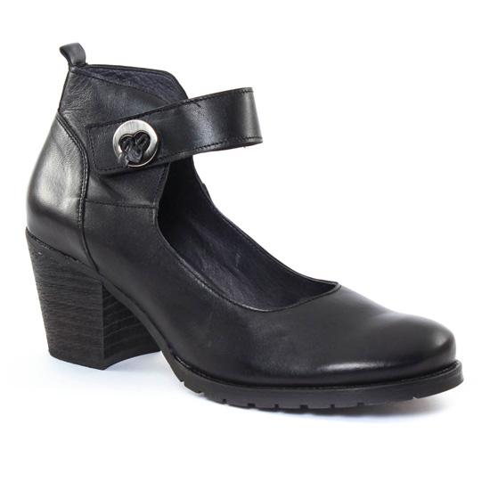 Babies Scarlatine 7939 Noir, vue principale de la chaussure femme