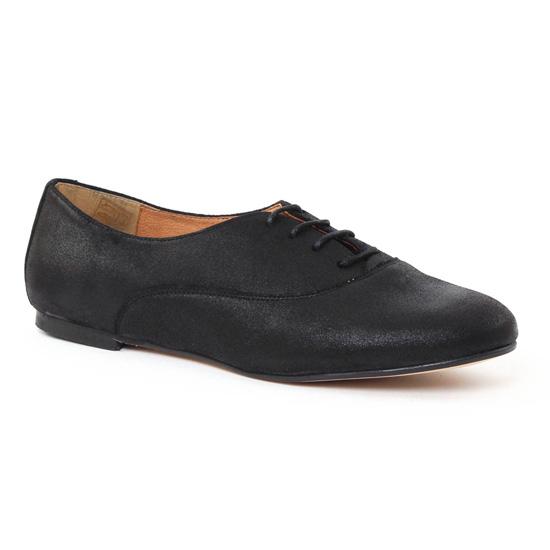 Chaussures À Lacets Scarlatine 5262141 Noir, vue principale de la chaussure femme