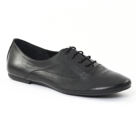 Chaussures À Lacets Scarlatine 7997c Noir, vue principale de la chaussure femme