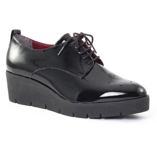 Chaussures À Lacets Tamaris 23307 Black, vue principale de la chaussure femme
