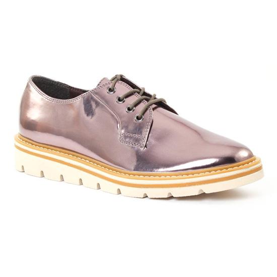Chaussures À Lacets Tamaris 23703 Platinum, vue principale de la chaussure femme