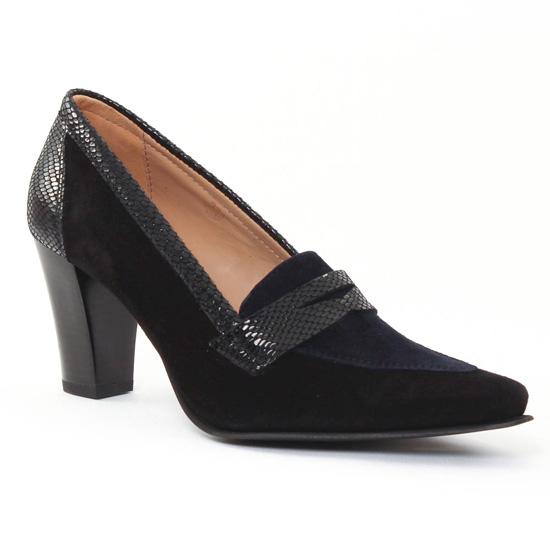 Escarpins Scarlatine Froumoc Noir, vue principale de la chaussure femme
