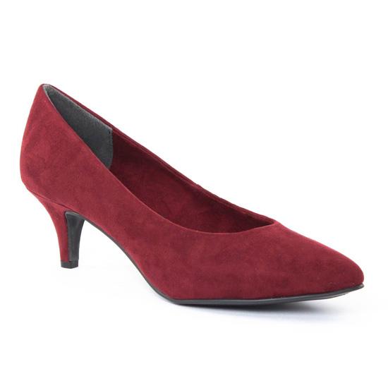 Escarpins Marco Tozzi 22422 Merlot, vue principale de la chaussure femme