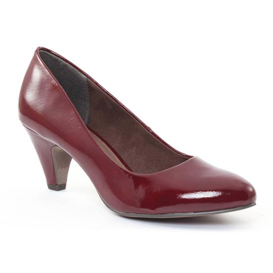 Escarpins Tamaris 22416 Bordeaux, vue principale de la chaussure femme