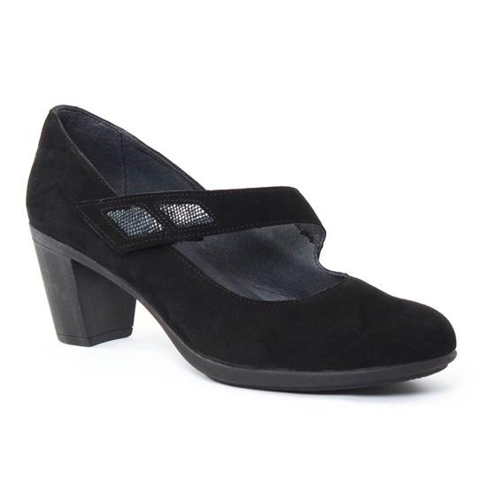 Escarpins Scarlatine 7941 Noir, vue principale de la chaussure femme
