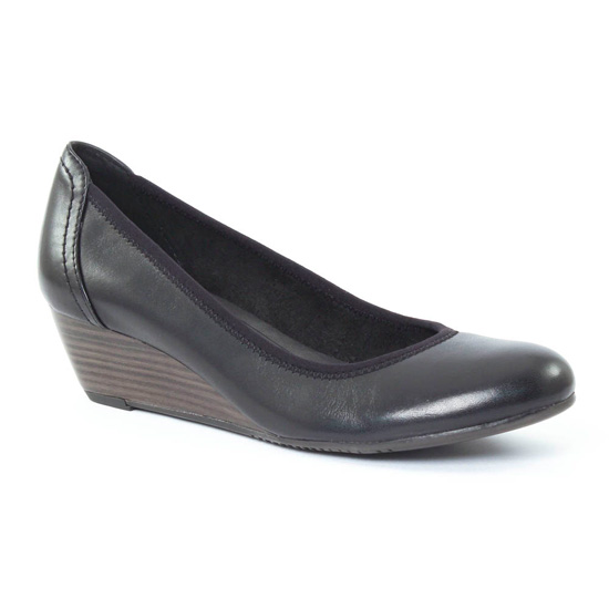 Escarpins Tamaris 22320 Black, vue principale de la chaussure femme