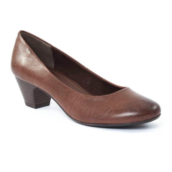 Escarpins Marco Tozzi 22304 Café, vue principale de la chaussure femme