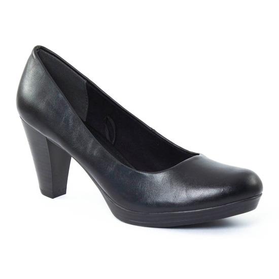 Escarpins Marco Tozzi 22402 Black, vue principale de la chaussure femme