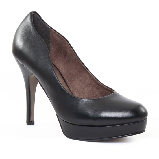 Escarpins Tamaris 22419 Black, vue principale de la chaussure femme