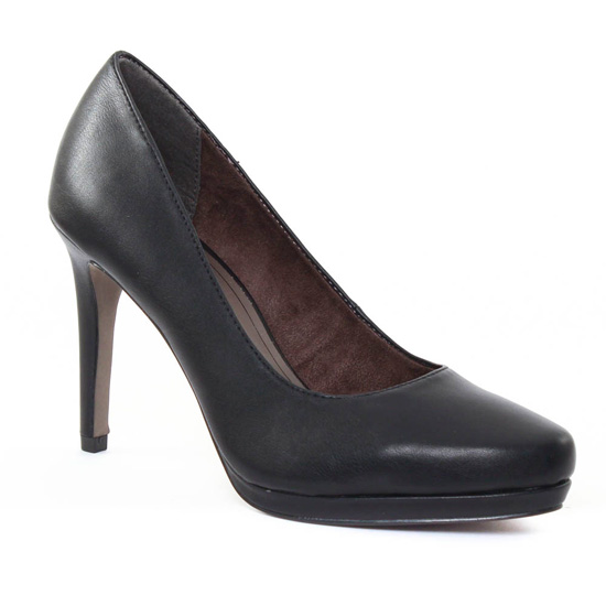 Escarpins Tamaris 22448 Black, vue principale de la chaussure femme